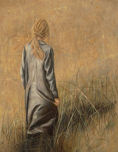 Artist Erica Hopper was born in Kansas City, Missouri, studied graphic and industrial design at San Diego State University, and continue. Contemporary Artists, Modern Art, Munier, She's A Lady, Galerie D'art, Fine Art Gallery, Figure Painting, Figurative Art, Good Day