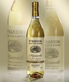"Nardini Riserva label. ""Etichetta d'Oro"" at Vinitaly packaging competition 2012"