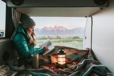 Photographers Matthew and Renee Hahnel have spent the last six months roaming cacti-dotted deserts, hiking steep mountainous terrain, admiring serene lakes, and lounging on sun-splashed beaches—and they haven't even crossed the U. Us National Parks, Grand Teton National Park, Yellowstone National Park, My Road Trip, Road Trip Hacks, Sleeping In Your Car, Teton Mountains, Road Trip Essentials, Landscapes
