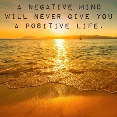 ♥ A negative mind will never give you a positive life. Zig Ziglar ♥