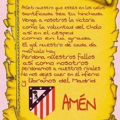ORACION PARA COLCHONEROS por Guayplas2013 - Fondos de pantalla colchonero - Fotos del Atlético de Madrid