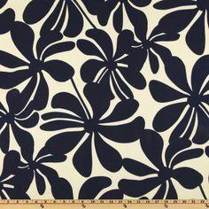 Premier Prints Indoor/Outdoor Twirly Deep Blue - Discount Designer Fabric - Fabric.com