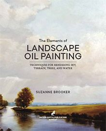 The Elements of Landscape Oil Painting designed by Sowins Design for Watson-Guptill Publications.