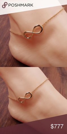 COMING SOON Gold Infinity Beach Anklet Gold filled infinity anklet. Great  with any outfit. ecda42e94085