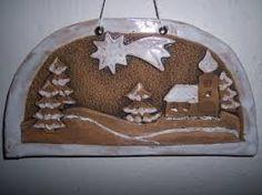 Výsledek obrázku pro keramika s detmi Clay Tiles, Clay Creations, Sculpture Art, Snow Globes, Christmas Ornaments, Holiday Decor, Fun, Crafts, Pasta