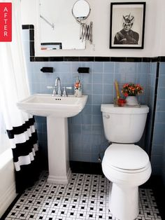 Beautiful Vintage Bathroom Renovations (That Donu0027t Destroy Original Tile)