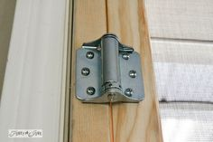 How To Install Self Adjusting Spring Hinges Via Funky Junk Interiors