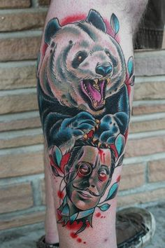 panda Tattoo Picture by  Stefan Johnsson
