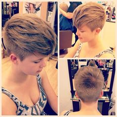 #undercut#pixie love this cut