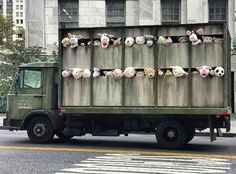 Banksy Sends a Slaughterhouse Truck Full of Screaming Plush Animal Around New York City