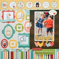 Layout: The Best of Friends **Simple Stories DT**