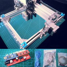 Desktop DIY Laser Engraver Cutter Engraving Machine Assemble Kit 17X20cm