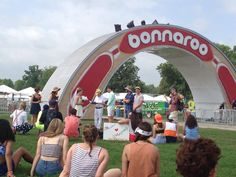 Tying the knot to kick off Bonnaroo 2013! How are you starting Day 1?