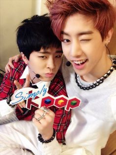 youngjae and mark - got7