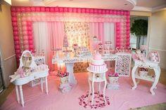 15 ideias para decoração de festa infantil bailarina