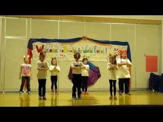 """""""What does the fox say"""" Brookdale Zumba Kids - YouTube"""