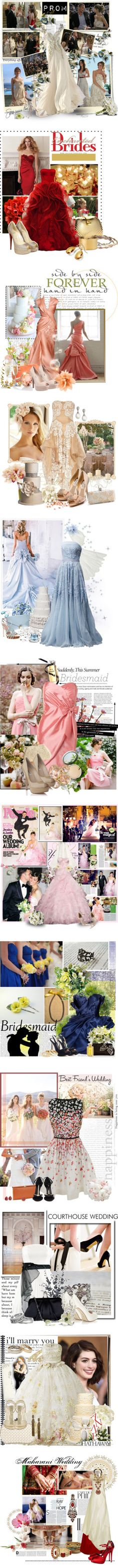 """""""Wedding day!!"""" by bubble-star ❤ liked on Polyvore"""
