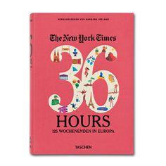 Taschen: 36 hours in Europe – Muttertagsgeschenke: Wenn das passende Geschenk für Mama noch nicht da ist, dann vielleicht hier bei den flair-Geschenktipps. Dies sind unsere Top 5 unter 50€...