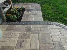 Stamped Concrete  Tri-State Bomanite  Cincinnati, OH