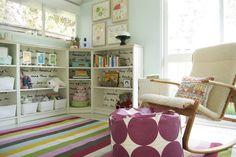 IKEA Billy bookcases around corner with wood topper Grace Hilton: Reader Question: Semi-Custom Corner Bookcase