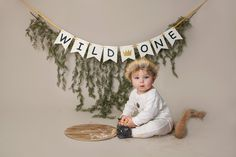 First birthday wild things cake smash photo shoot.- First birthday wild things cake smash photo shoot. Where the wild things are the… First birthday wild things cake smash photo shoot. Where the wild things are theme photography. First Birthday Crown, Boys First Birthday Party Ideas, One Year Birthday, Wild One Birthday Party, Baby Boy First Birthday, First Birthday Photos, First Birthday Cakes, Boy Birthday Parties, Gold Birthday