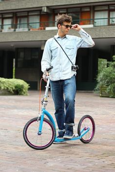Where is the other Swifty Scooter?