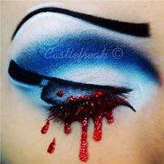 INSANITY! We love the way @castlefreak's crazy mind works. Check out this creepy look she created with the help of Sugarpill Afterparty, Stella and Tako! Is it weird that we think it's super cute??!
