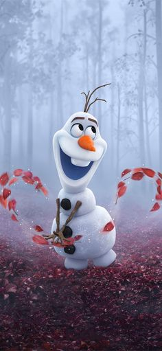 olaf in frozen 2 iPhone X Wallpapers