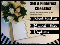 Learn more great Pinterest marketing tips here: www.melanieduncan.com