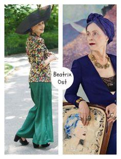 Dona de um estilo único Beatrix Ost é uma mulher fascinante! Com sua  elegância natural 5f449f0ec3