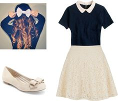 """Simple Lace"" by emma-lee97 on Polyvore"