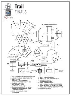 Horse show patterns | Trail finals pattern for the 2016 Ford Youth World.