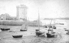 Saint Servan, analyse d'une photo de port Saint-Père vers 1886