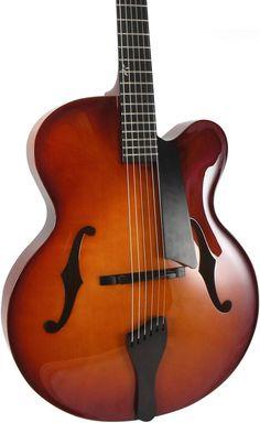 Bob Benedetto, La Venezia guitar. Super elegant, super good reason to take out a second mortgage.