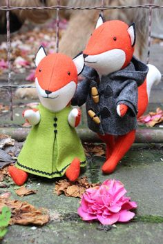 Ginger & Blue: A fox PDF sewing pattern by ricracsews on Etsy