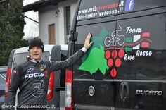 Itinerari MTB, il presidente del Racing Team Rive Rosse, Marco Benetel http://www.viaggiaescopri.it/itinerari-mtb-brusnengo-rive-rosse/