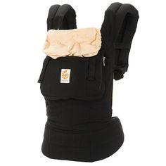 Ergobaby Original Collection Baby Carrier - Black / Camel (BC6CANL) | Ergobaby // $115.00