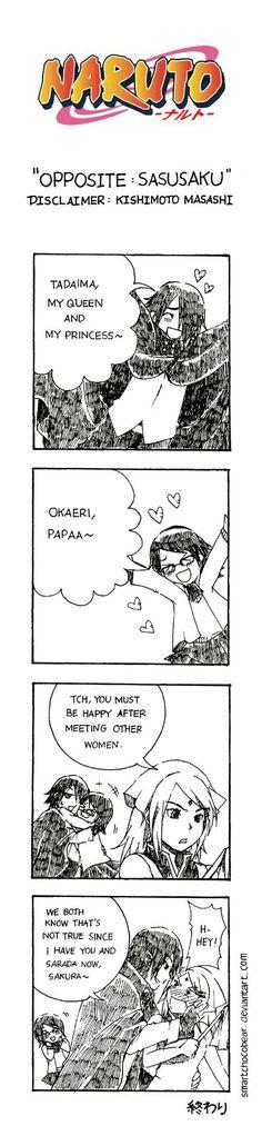 #SasuSaku #UchihaFamily #jealous