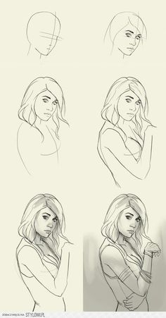 stylowi_pl_plakaty-i-obrazy_jak-narysowac-dziewczyne-na-inspirujace-rysuneczki_12138623.jpg (654×1250)
