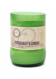Repurposed Candle 8 oz.  Pomegranate And Currant (2015) - New - Gifts & Acc