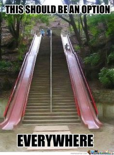 Clint!!!...Reminds me when we slide down the steps at Gooseberry Falls in winter!!!