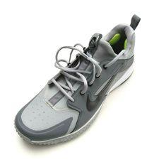 60894d8ae Nike Men s Alpha Huarache Gray Metallic Baseball Turf Shoes Size 13 for sale  online