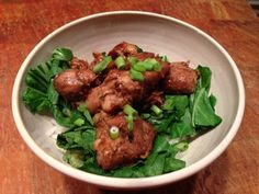 #Slow-cooker #Chicken with hoisin and bok choy.  http://wp.me/p2SJwY-QD