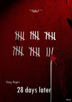28 Days Later Minimalist Poster by Tchav.deviantart.com on @deviantART