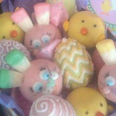 Easter Lollycakes by RoylinsLollycakes on Etsy, $36.00