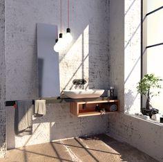 Kolekce INDUSTRY je určena pro odvážné, kteří objevují nový experimentální způsob bydlení a ocení luxus v neočekávaných designových postupech. Design: Martin Tochaczek & Roman Kalousek