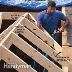 How To Frame A Gabled Dormer Spaces Construction And