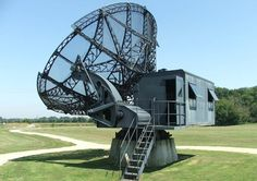 Preserved FuMG 65 Würzburg E radar at Douvres la Delivrande, Normandy (Juno Beach). The Douvres la Delivrande radar station was isolated by Canadian troops on 6 June 1944, but the garrison repulsed their attempts to capture the station. It wasn't until a direct assault by 41 Commando, British Royal Marines, on 17 June 1944 that the station was finally captured.