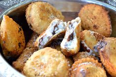 Sweet Ravioli chocolate and ricotta