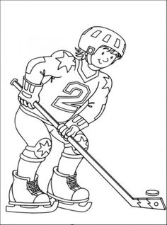 free hockey coloring pages sport coloring pages of pagestocolor